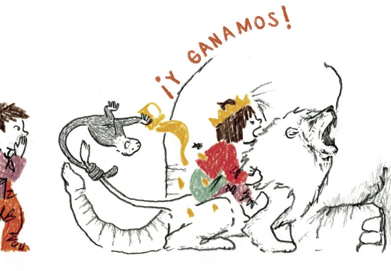 el-leon-de-candela-primer-premio-del-festival-internacional-ilustrofest
